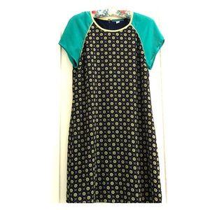 Foulard pattern dress